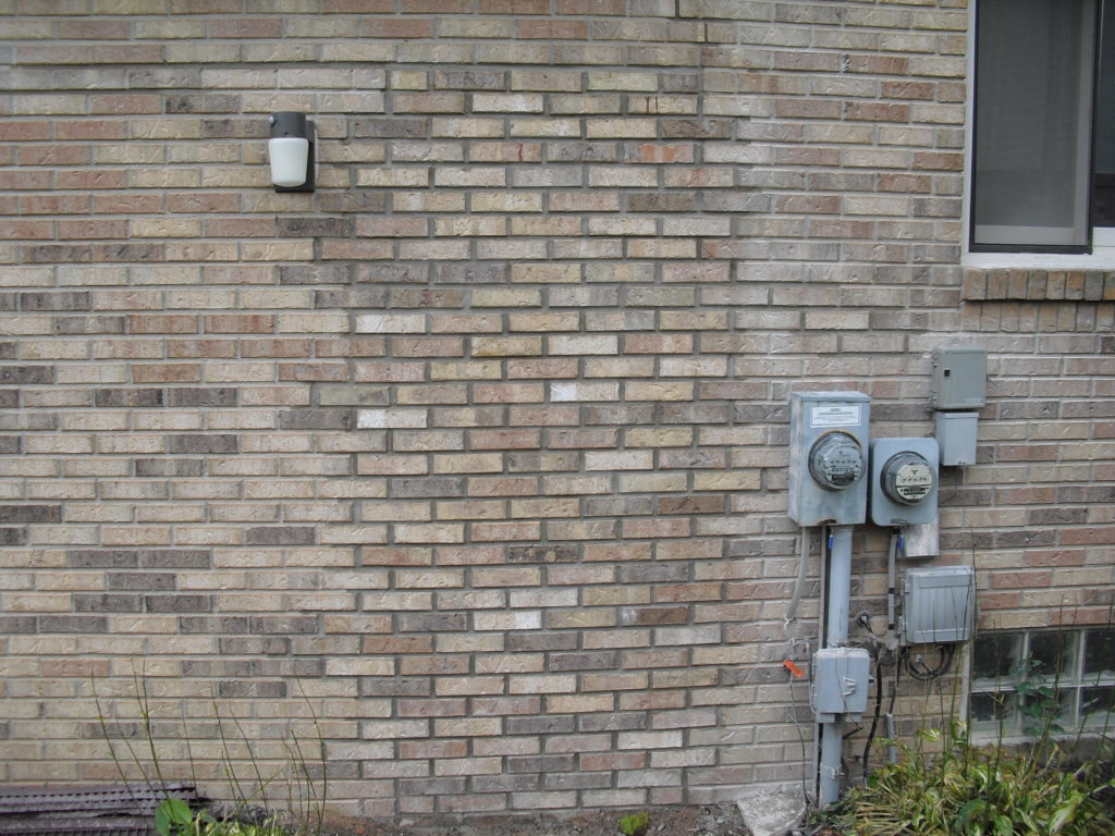 Tuckpointing Brick Repair After Picture